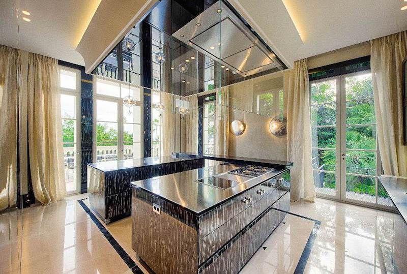 cannes france multi million dollar castles kitchen - Multi Castle Interior