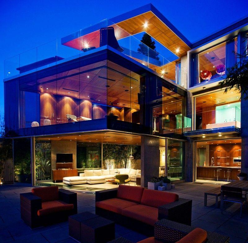The Lemperle Residence By Jonathan Segal Modern Beach House Mansions Modern House
