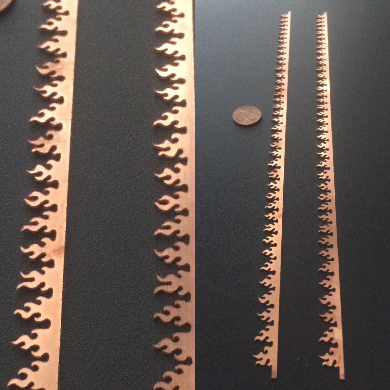 1 Large 10mm Copper Fire Beze 20 Gauge Thick Copper Unique Jewelry Copper Sheets