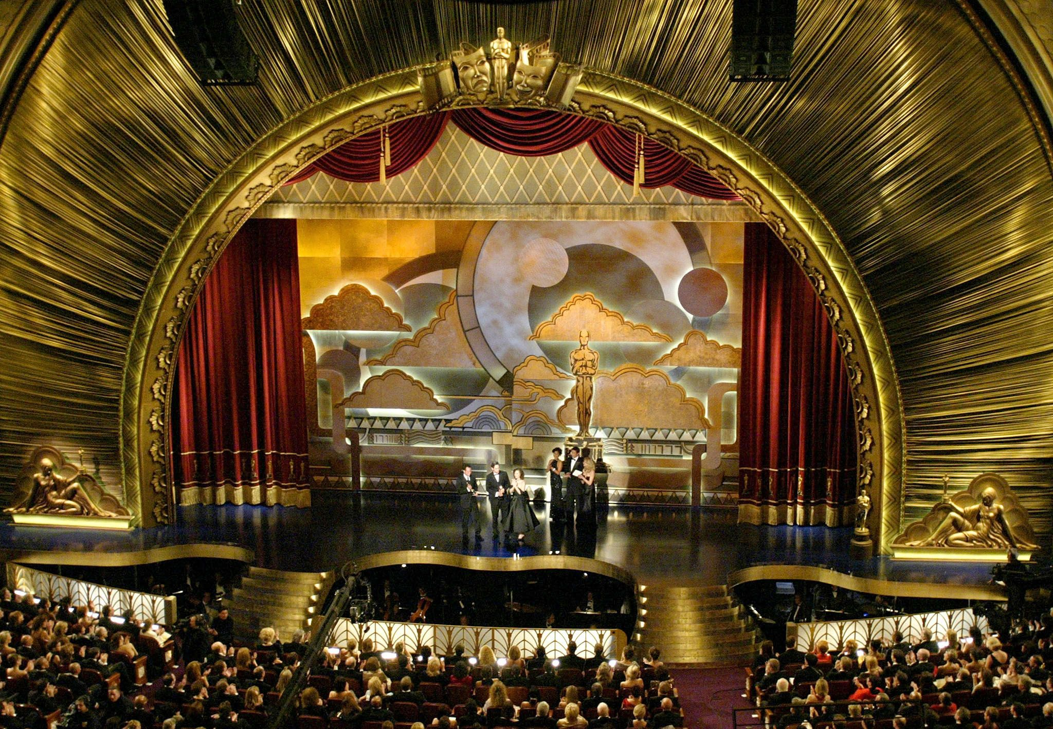 Academy Awards Stage | Metallic Paint Collection ...