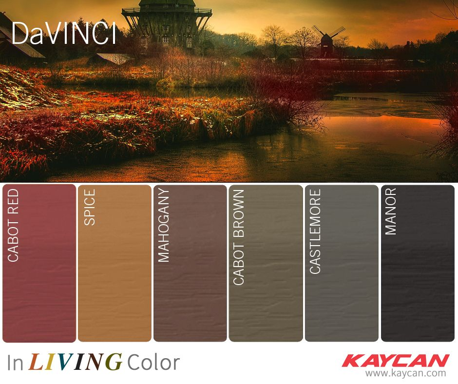 Get Inspired With Kaycan S Davinci Vinyl Siding Collection Vinyl Siding Vinyl Siding Colors Vinyl Siding Manufacturers