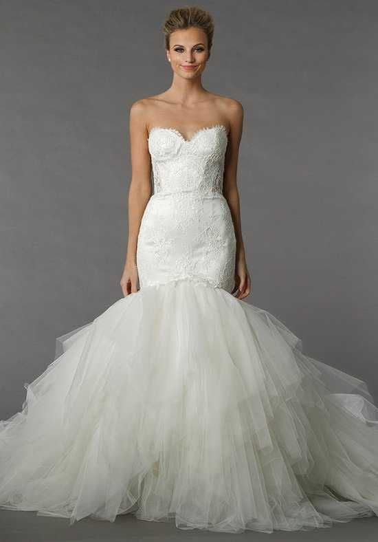 520c4b0c871c Pnina Tornai for Kleinfeld 4376 Mermaid Wedding Dress | Wedding ...