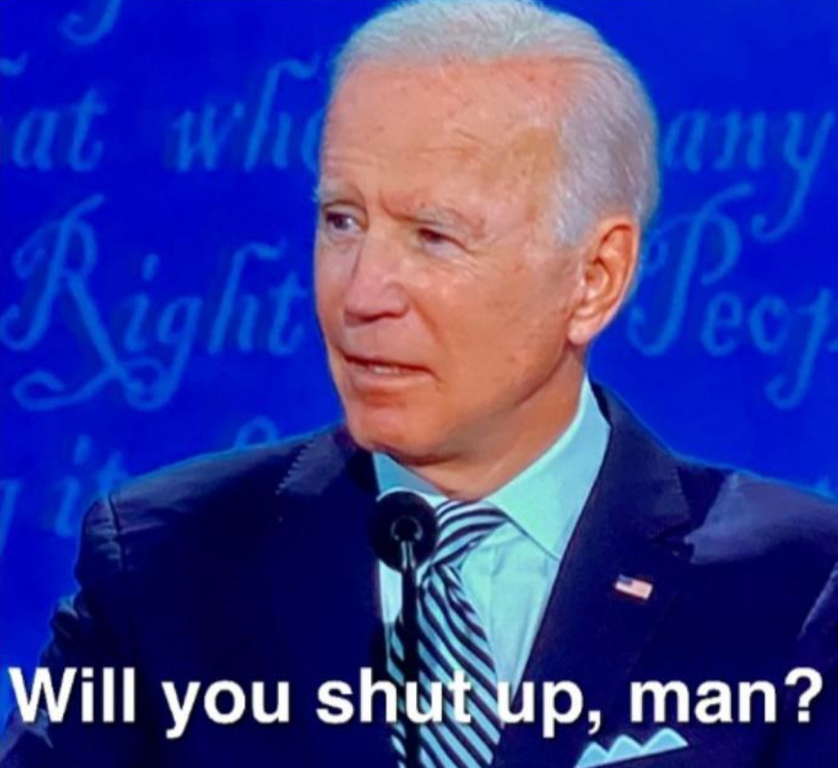 Official Will You Shut Up Man Template Memetemplatesofficial Funny Memes Shut Up Memes