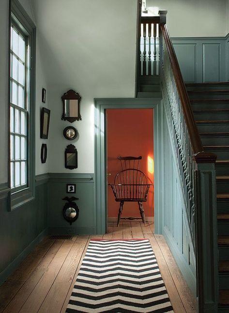 1001 Idees De Couleurs Pour Une Peinture Couloir Originale En