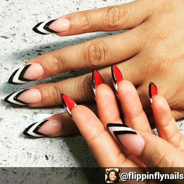 Red Bottom Nails Red Bottom Nails White Nail Designs White Nails