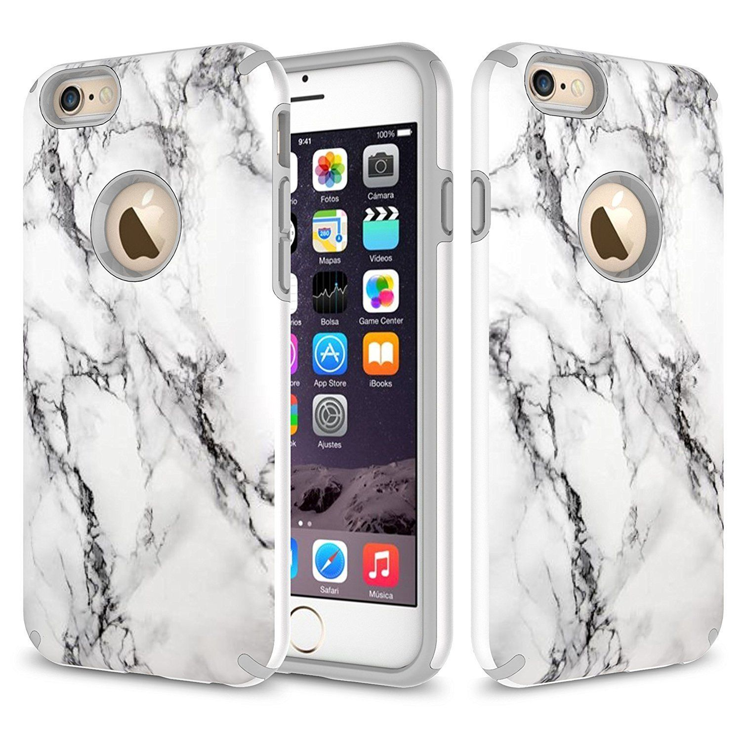 Apple Iphone 6 Plus 6s Case Dual Layer Shockproof Bumper 132361794486 For 799