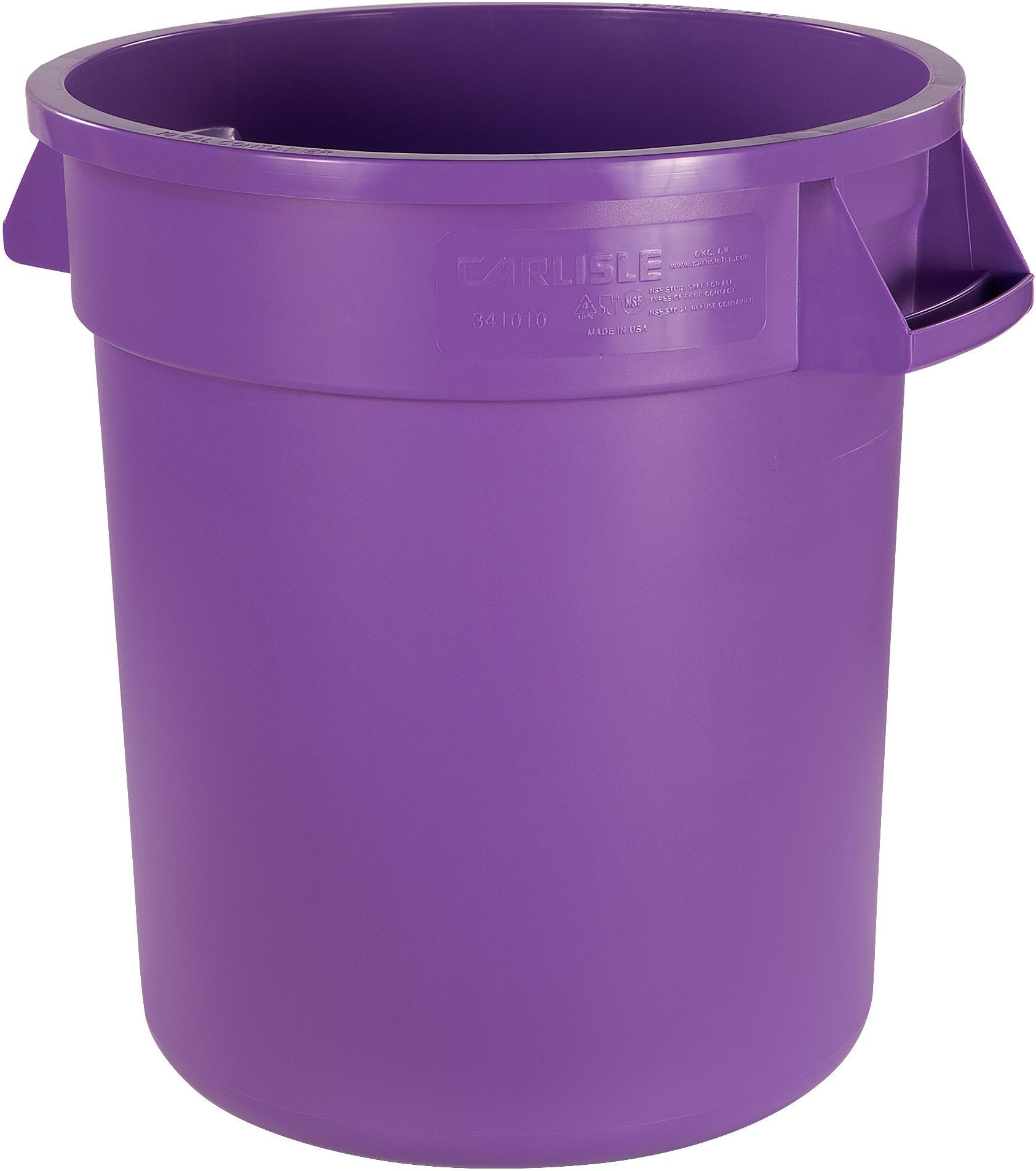 Bronco™ 10 Gallon Waste Container (Set of 6)