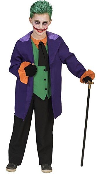 Halloweenia Jungen Motto Party Halloween Karneval Kostum Joker