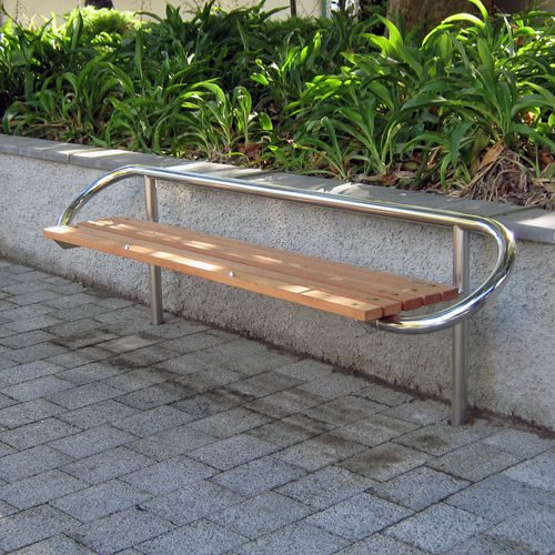 Tubular Timber Bench Street Furniture Nz Bench Timber Furniture Nz