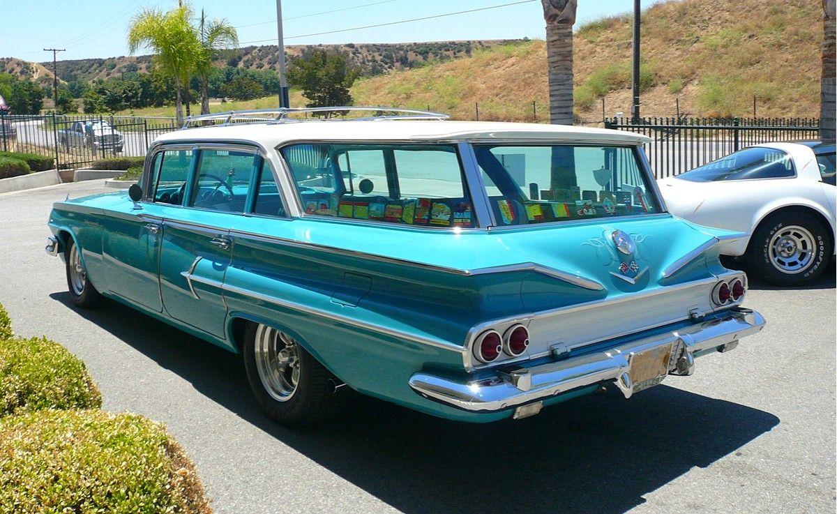 1960 Chevrolet Kingswood Station Wagon 1960 Chevrolet Kingswood