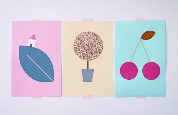 Illustrazione bambini ~ Giochi di carta: illustrazioni per bambini children illustrations