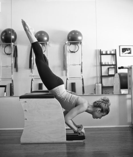 Woman Pilates Chair Exercises Fitness Stock Photo: 5 Things Pilates Newbies Should Know