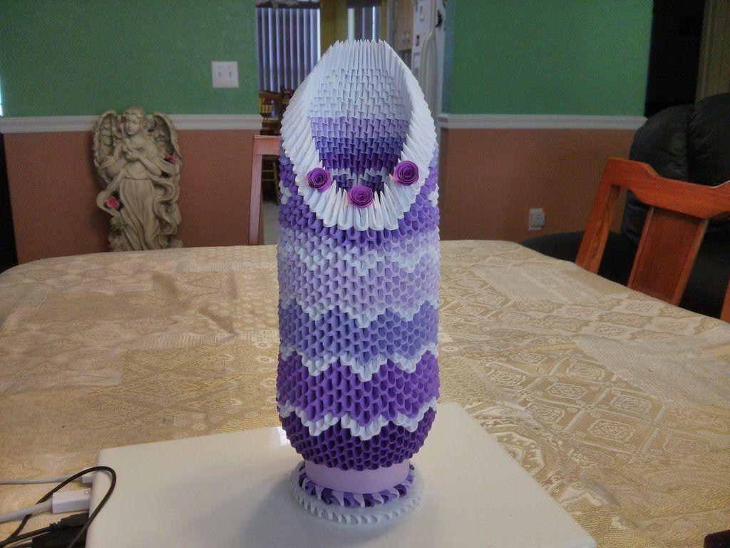 Deviantart more like 3d origami vase by esmeraldaarribas crer deviantart more like 3d origami vase by esmeraldaarribas mightylinksfo Images