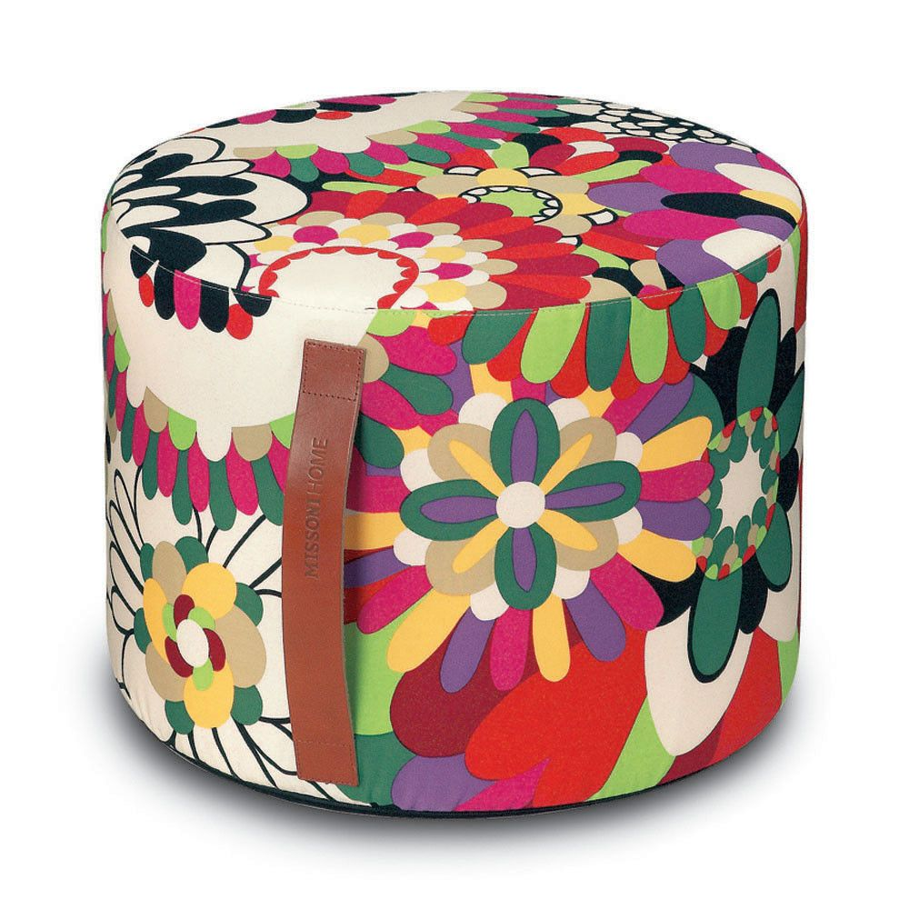 coomba pouf  xcm  t  vevey missoni and ottomans - coomba pouf  xcm  t
