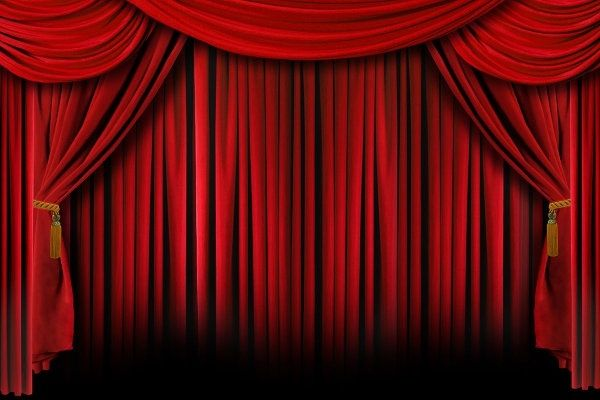 red stage curtain hd picture projects to try pinterest