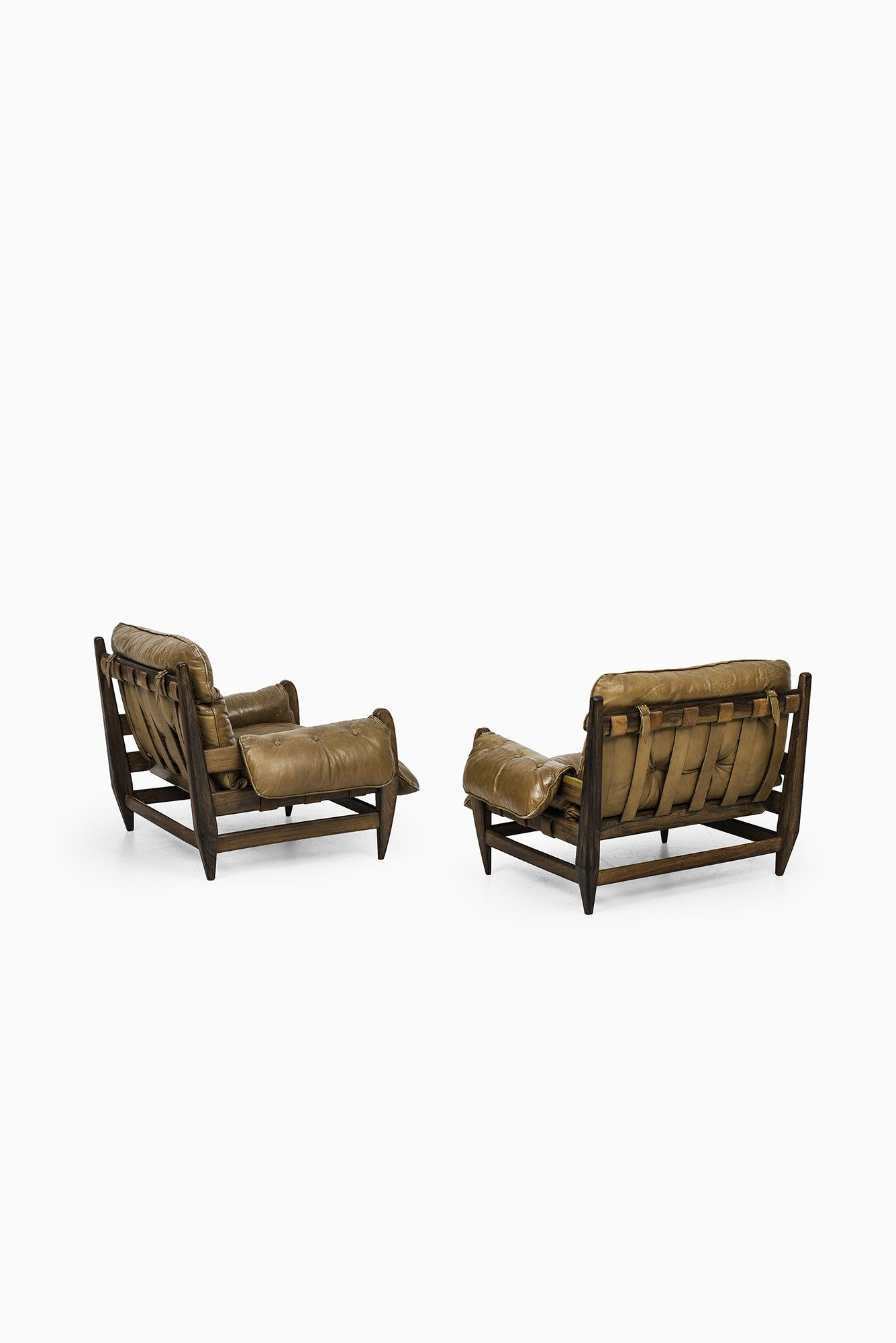 Jean Gillon easy chairs by Italma Wood Art at Studio Schalling