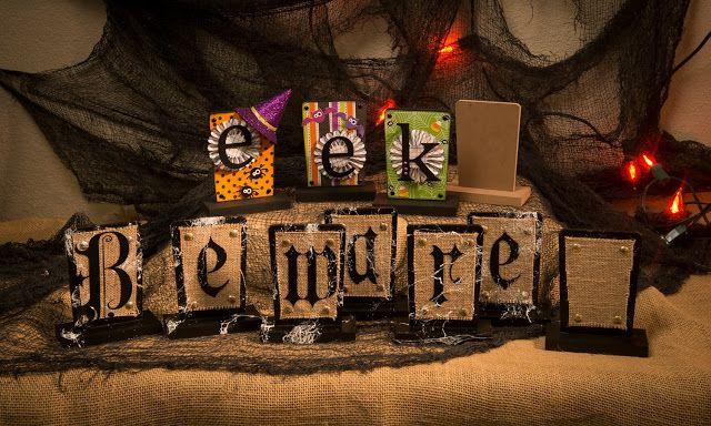 Halloween Signs Project Inspiration Pinterest Halloween signs - halloween arts and crafts decorations
