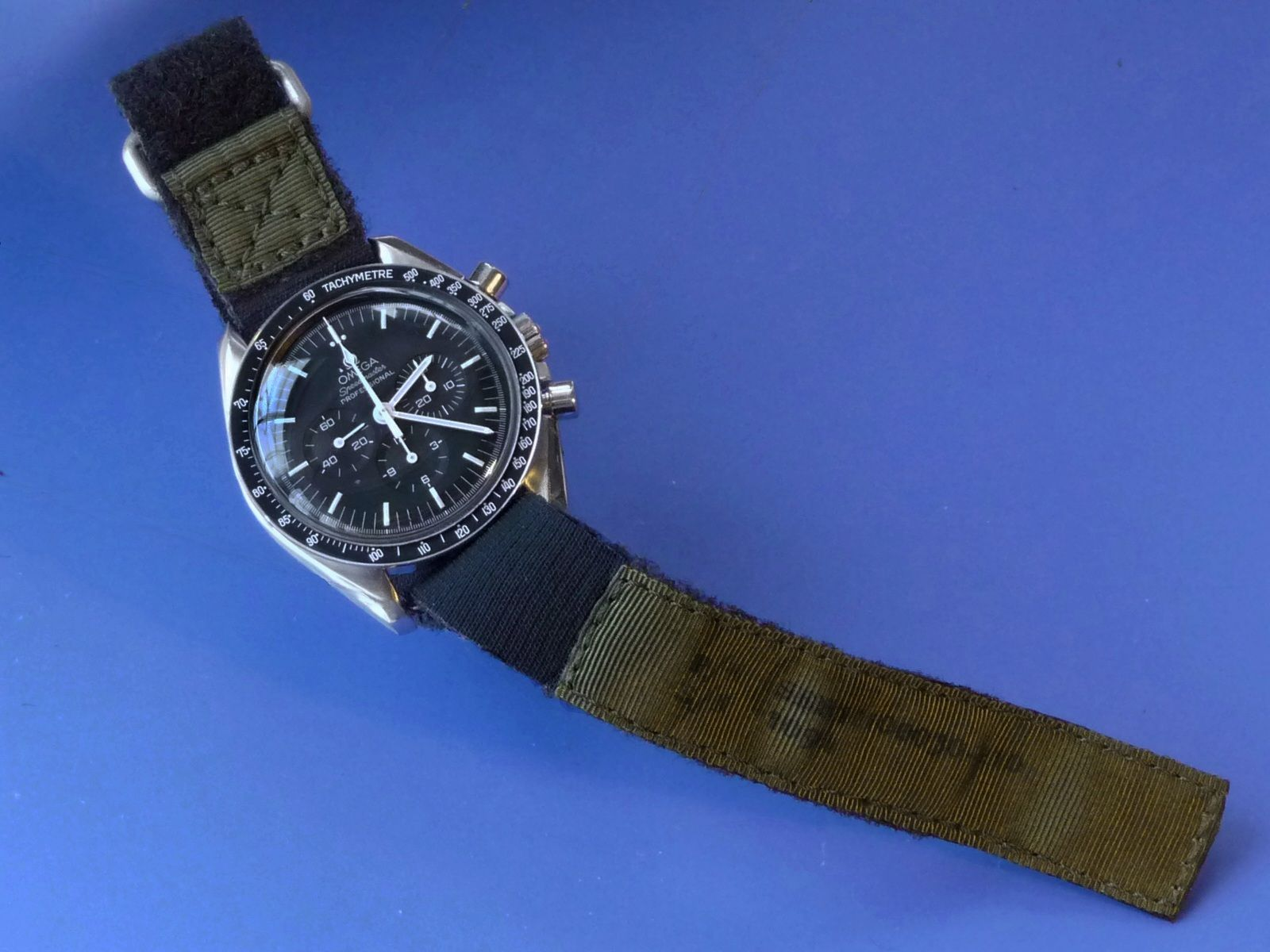 Short NASA watchband, P/N SEB12100030-210, late Apollo ...