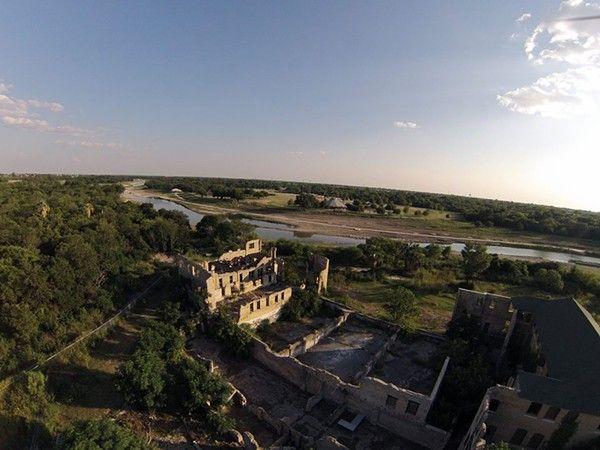 Hot Wells Spa Ruins, San Antonio