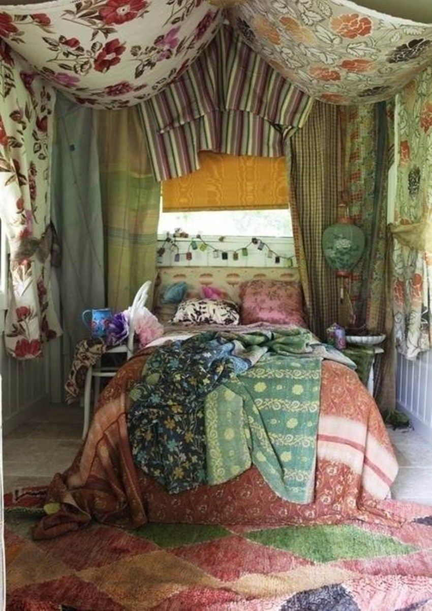 60 Cool Bohemian Style Curtains Decor Ideas
