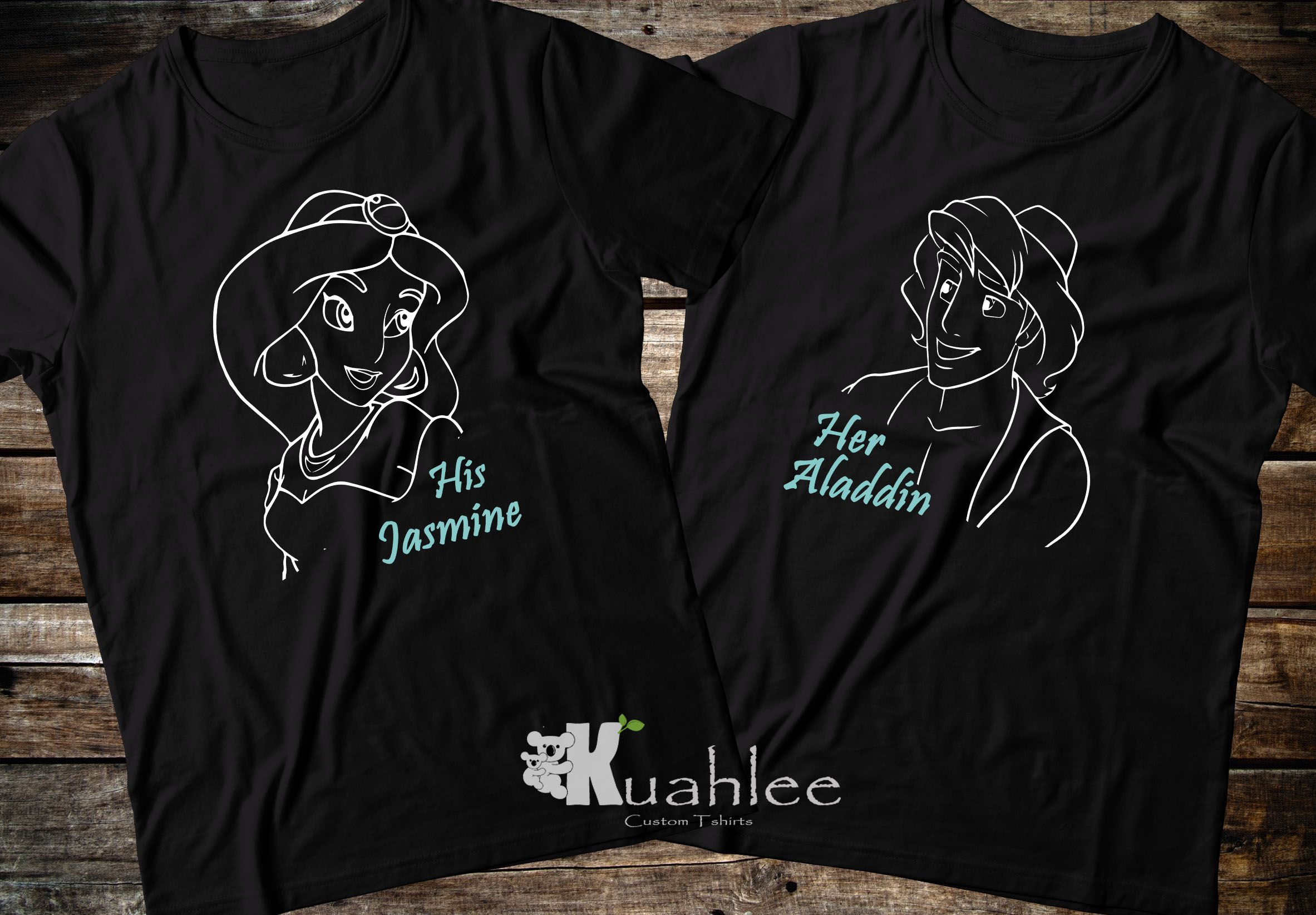 Custom Jasmine Shirt Family Matching Tee Gift Birthday T-shirt Kid Party Disney