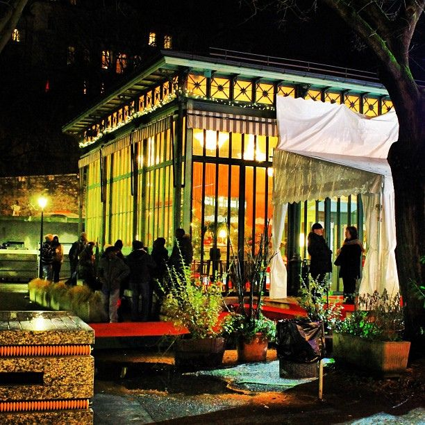Cafe Restaurant Du Parc Des Bastions Geneve By Nouhailler Via