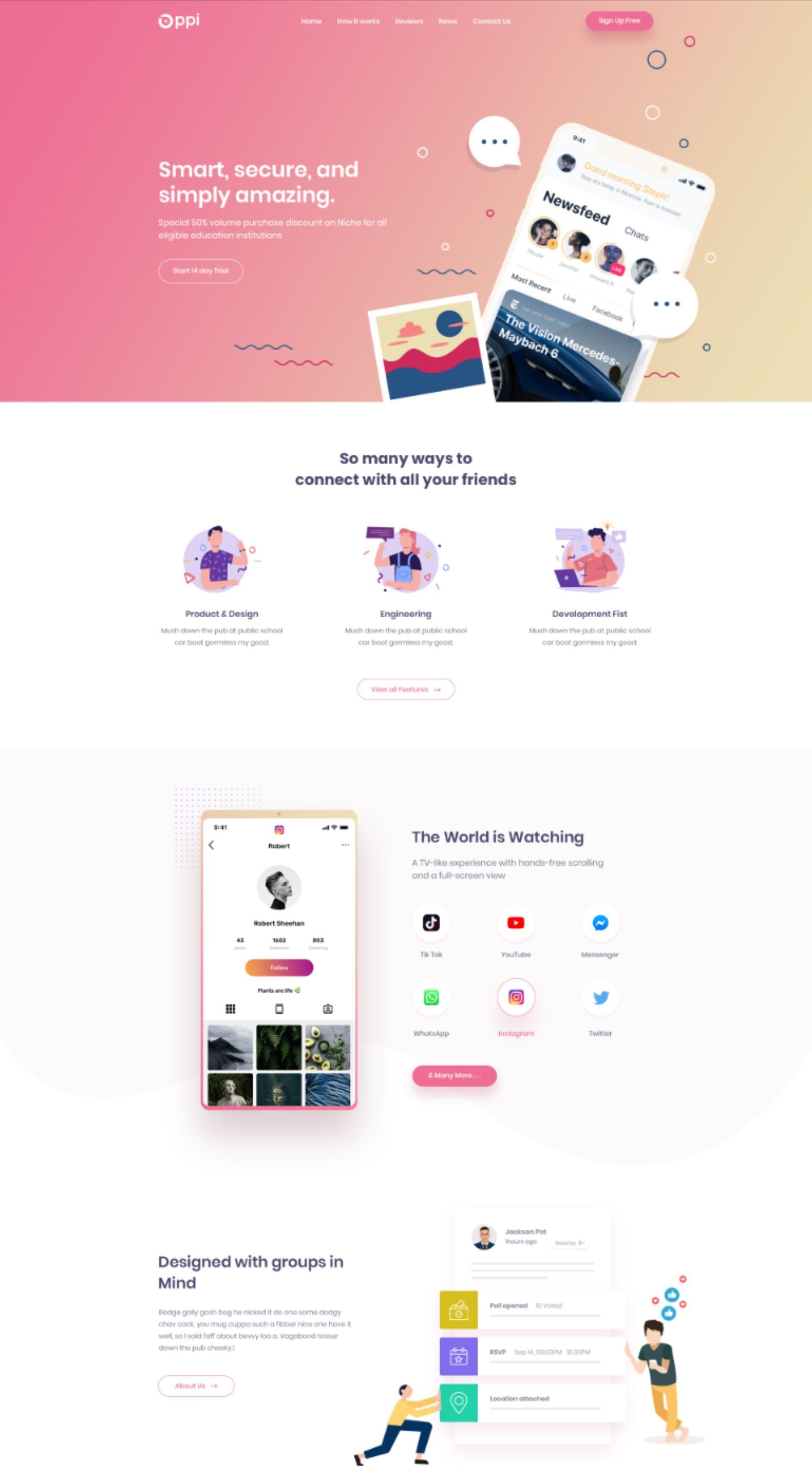 Pin von Sol auf Web Design | Web design, Webdesign, Design
