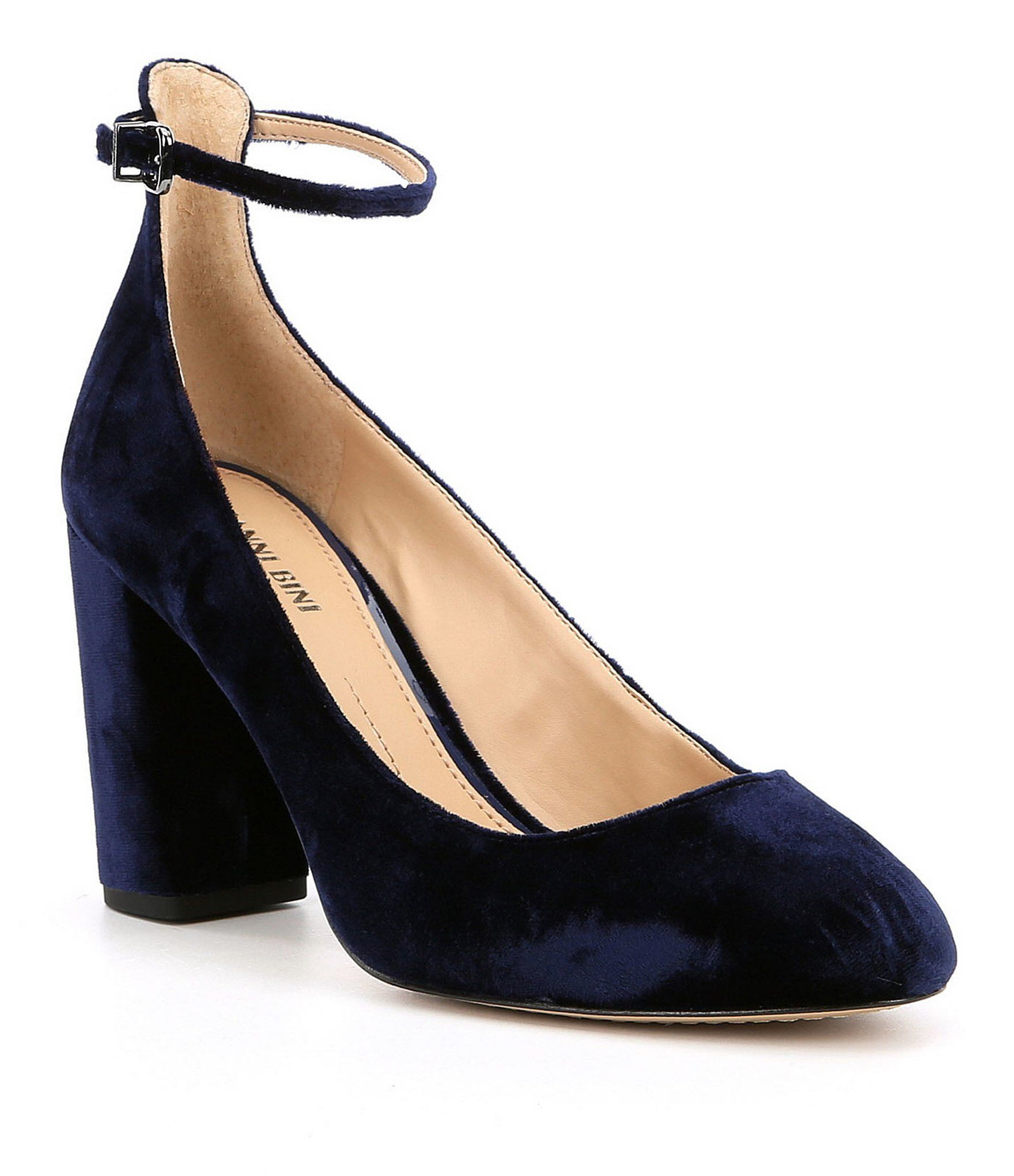 Gianni Bini Shoes   Brown Block Heel Pumps   Poshmark