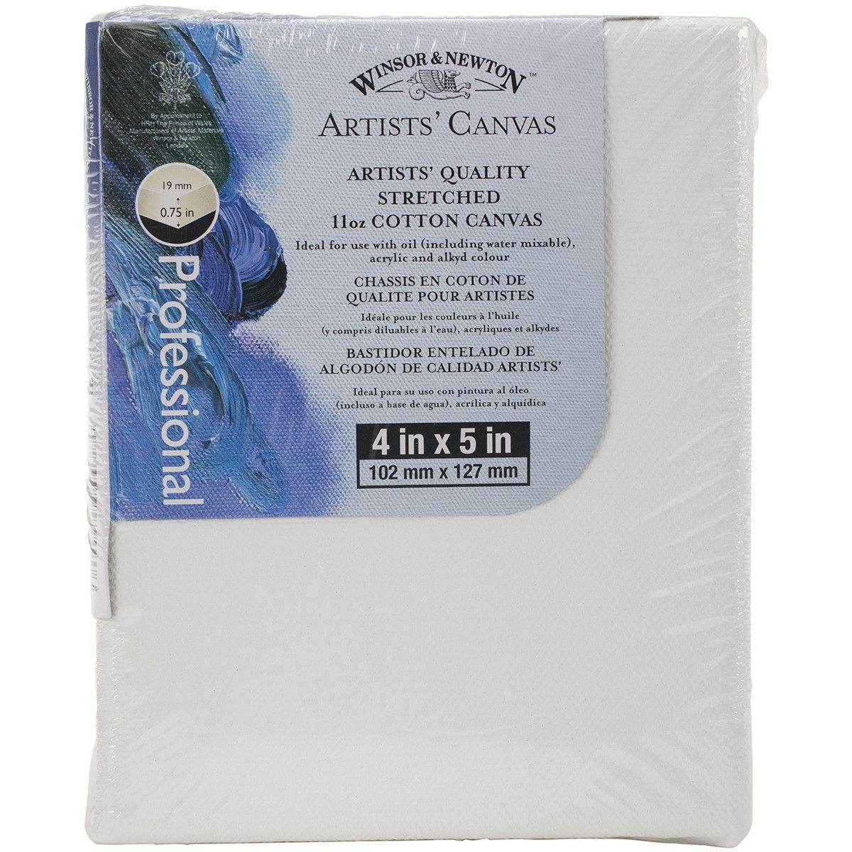 """Artists' Quality Stretched Canvas-4""""""""X5"""""""""""