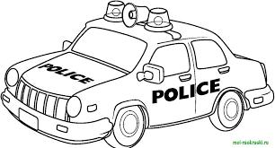 раскраски для мальчиков - Пошук Google | Полицейские машины