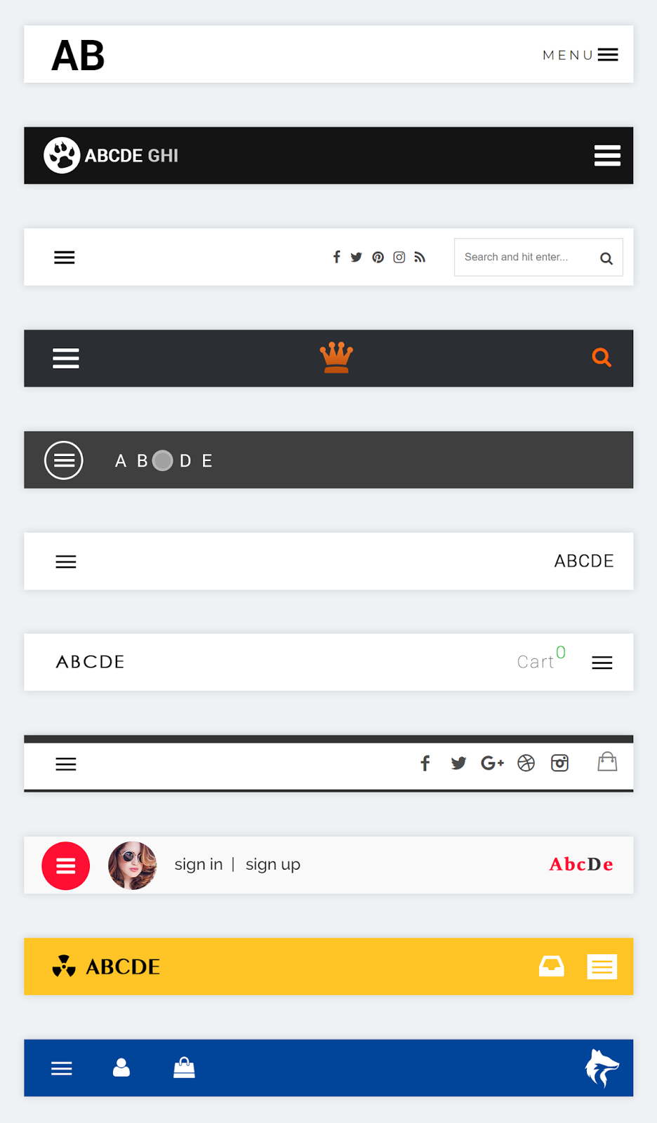 Android Tool Bar Design Inspiration | Mobile UI | Ui design