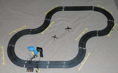 Tyco Mattel Ho Scale Electric Racing Slot Car Race Track Set Lot Slot Car Racing Slot Car Race Track Slot Car Racing Sets
