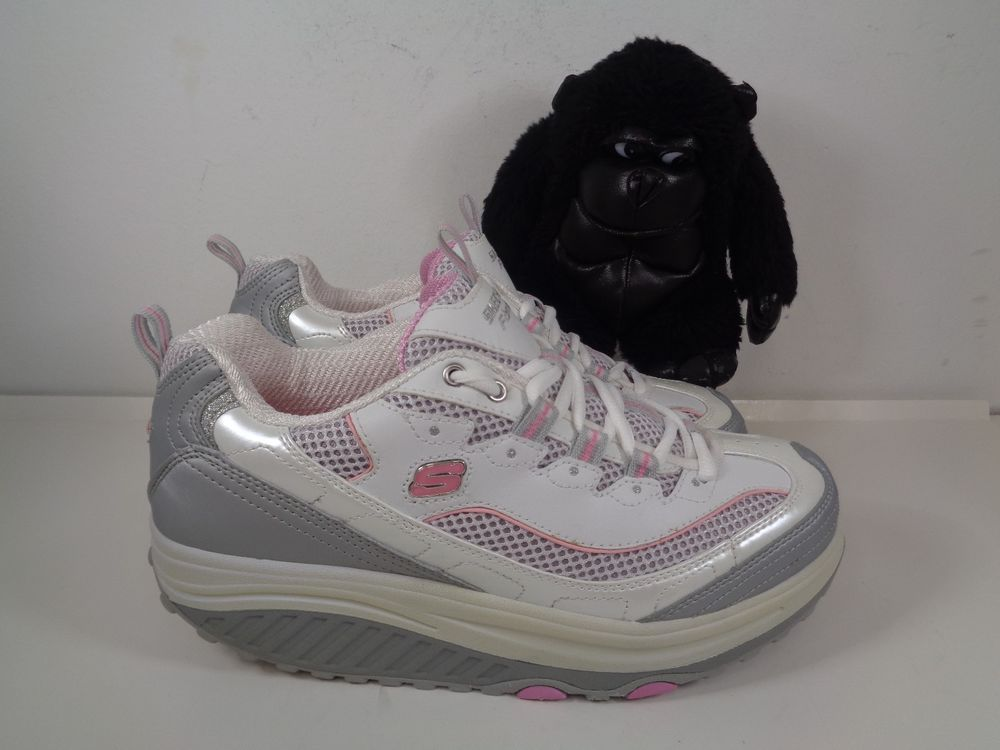 Womens Skechers Shape Ups Running Training Shoes Size 8 Us Sn