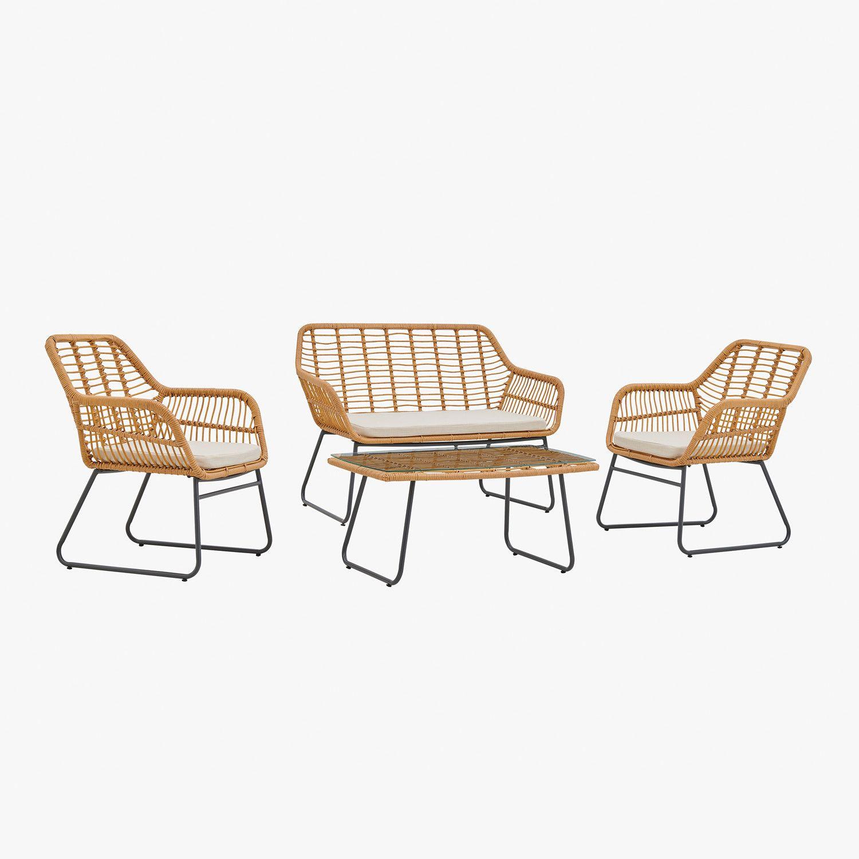 Set Exterieur Visutt Sklum En 2020 Table Et Chaises Chaise A Bascule Table Et Chaises De Jardin