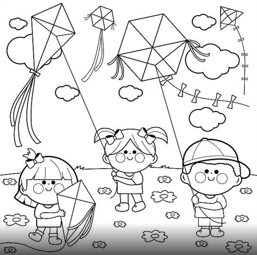 Boyama Sayfalari Okul Oncesi 11 Boyama Sayfalari Boyama Kitaplari Illustration