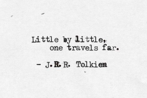Tolkien Quotes Littlelittle One Travels Farjrr Tolkien ♡ Quotes