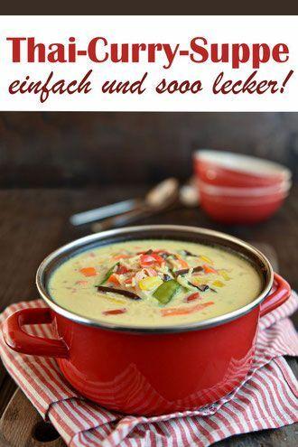 Photo of Thai curry soup. Blast! | Curry soup, Thai curry soup and Thai curry