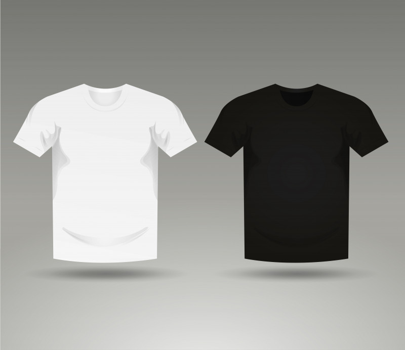 Download Printable Blank Tshirt Template Awesome Mens Black And White Blank T Shirt Templates Download Free Shirt Template Blank T Shirts T Shirt Design Template