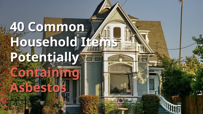 40 Common Household Items Potentially Containing Asbestos Video Video Household Items Diy Home Improvement Home Diy