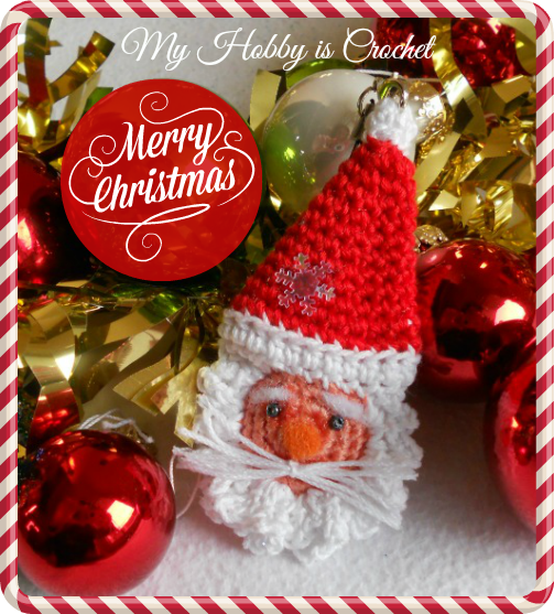 Crochet Christmas Ornaments with links to free patterns
