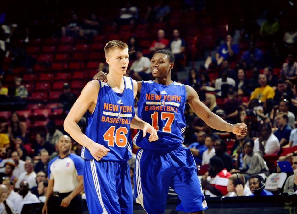 Knickbulletin On Twitter New York Knicks Kristaps Porzingis Knicks