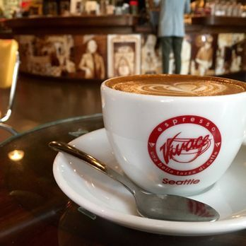 Espresso Vivace Roasteria Seattle Wa United States 8oz Cafe Caramel Best Coffee Shop Wholesale Coffee Coffee Supplies