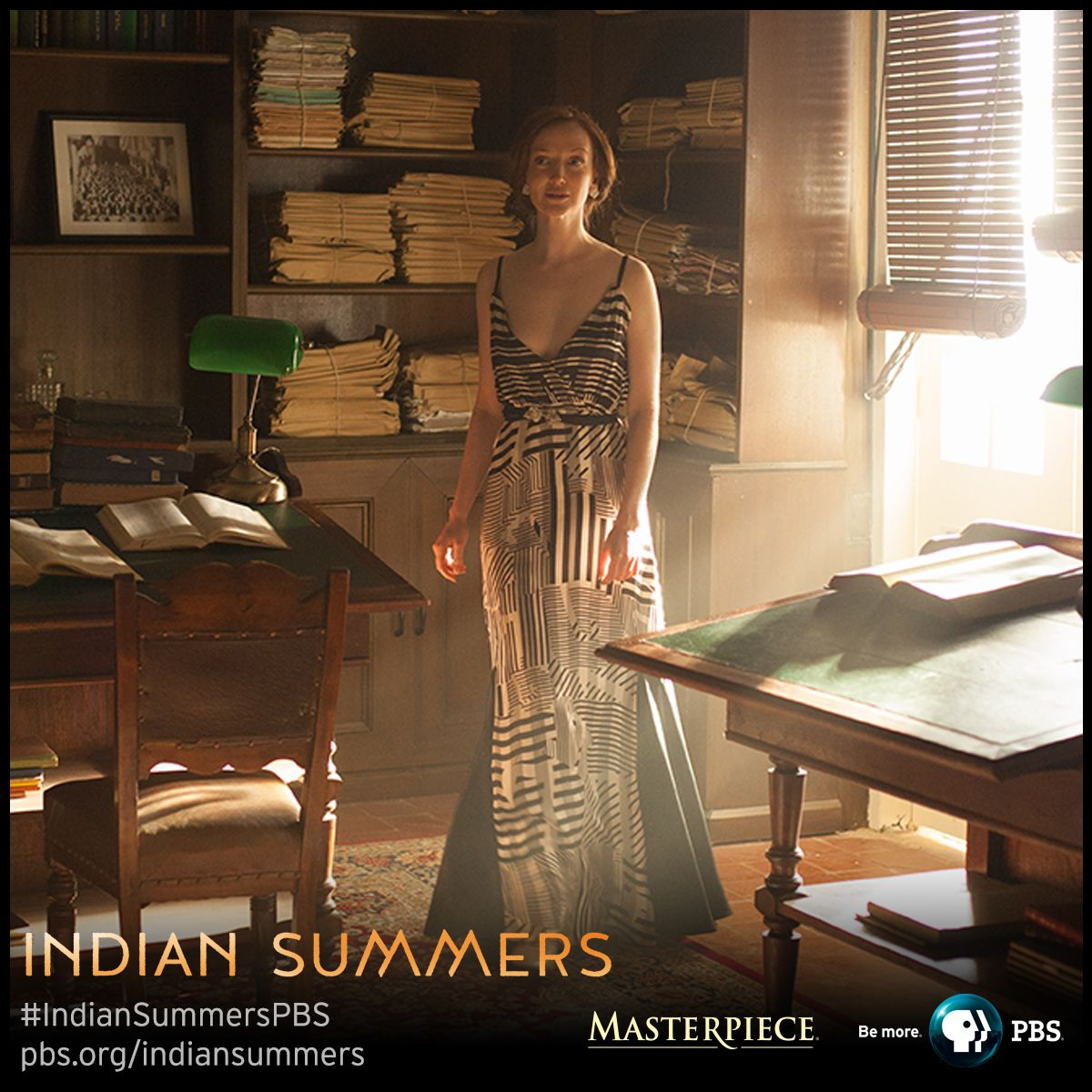 Madeleine Mathers (Olivia Grant) | Indian Summers, as seen on MASTERPIECE on PBS