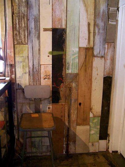 reclaimed wood wall Tropical Bliss Pinterest Palés, Palets y