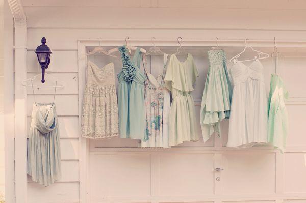 mint bridesmaids   UK wedding blog ~ Inspiration by Be Eventful