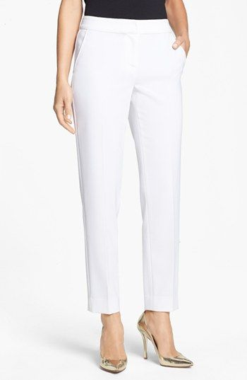 St. John Collection 'Emma' Straight Leg Pants available at #Nordstrom