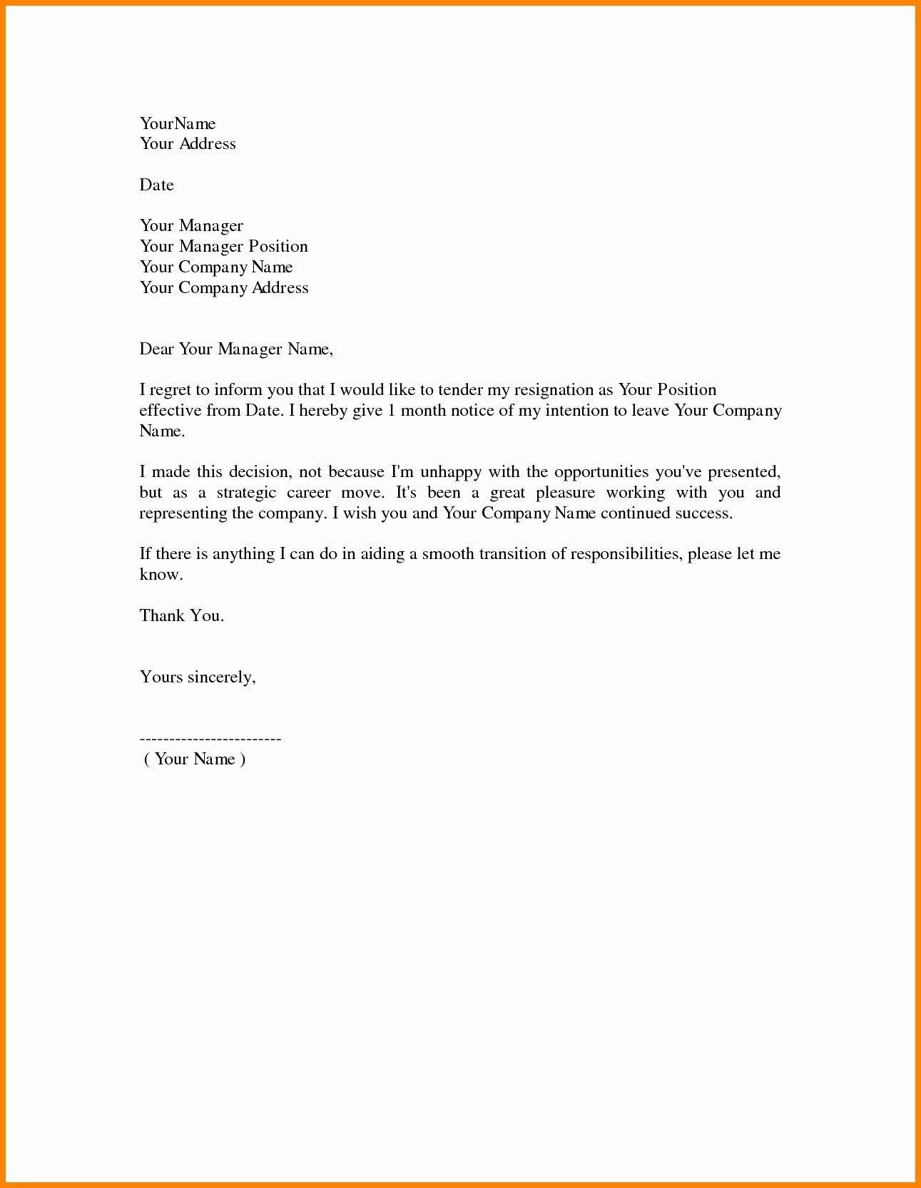 Image result for resignation letter HD  Microsoft word  Resignation letter Job cover letter