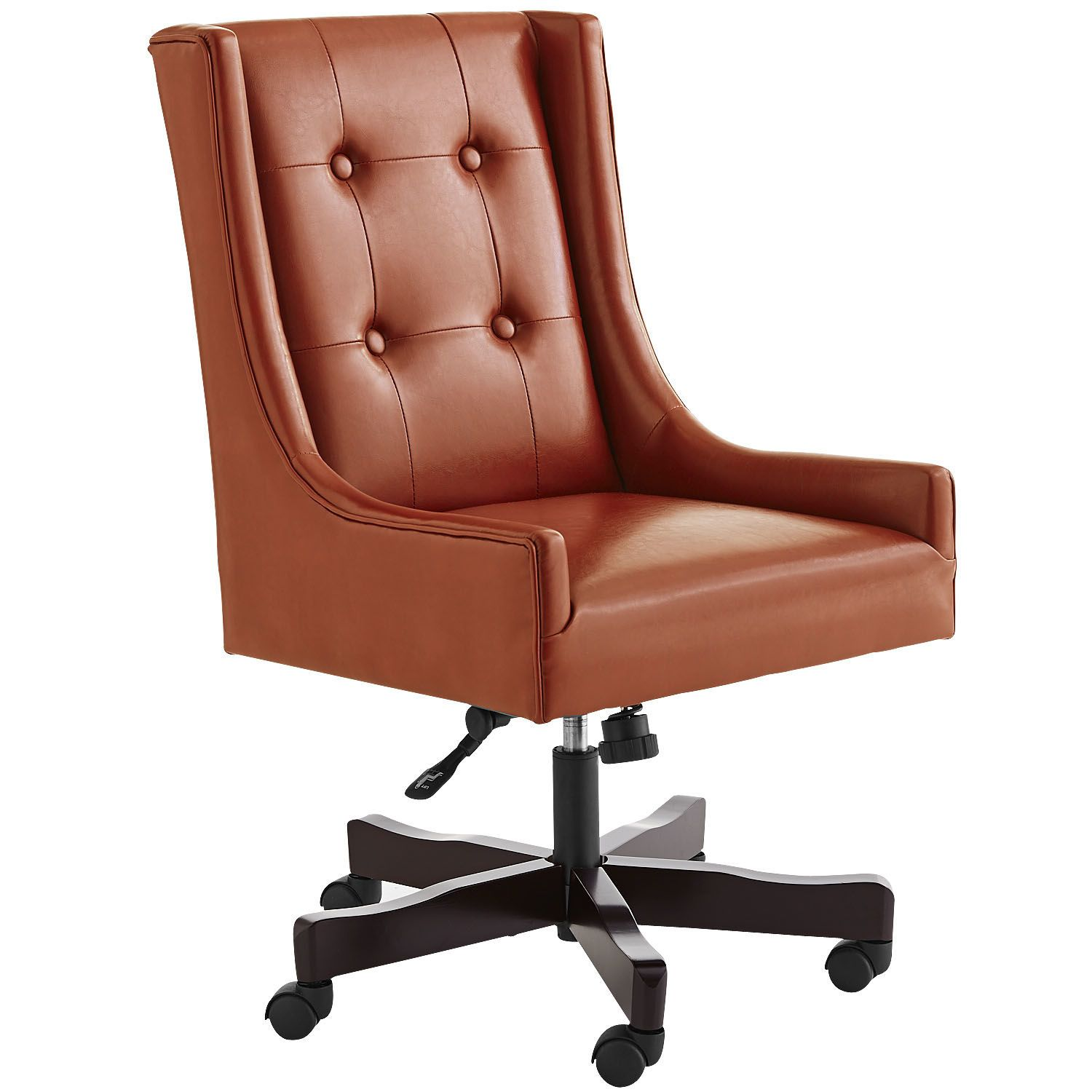 Mason Swivel Desk Chair   Rust | Pier 1 Imports For Remyu0027s Home Office