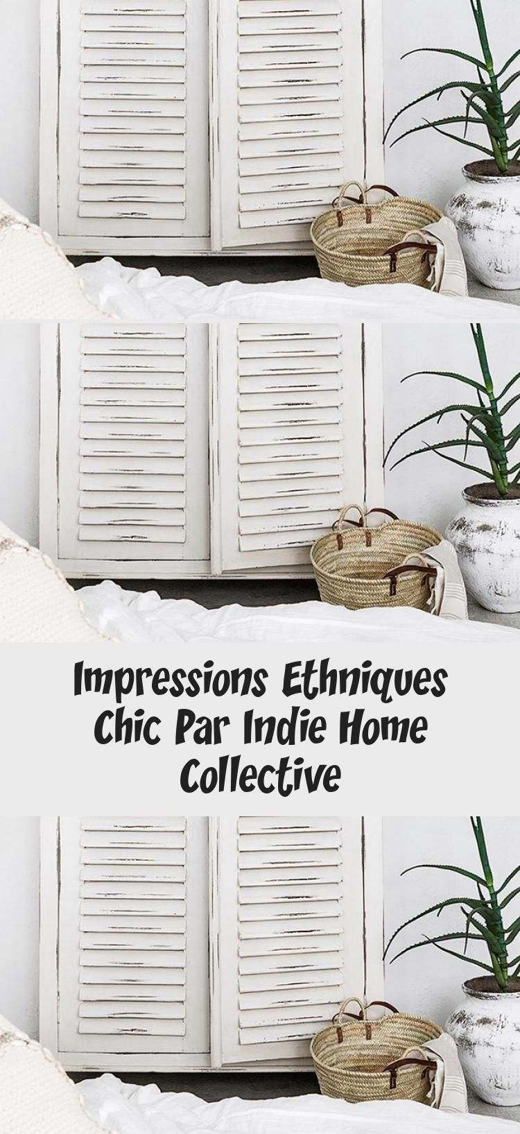 Photo of Chic Ethnic Impressions By Indie Home Collective – Decor