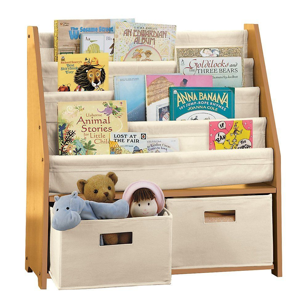 Children S Bookcases And Storage Kids Sling Bookshelf With